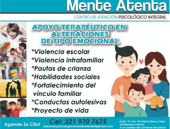 MENTE ATENTA CENTRO DE ATENCIÓN PSICOLÓGICO INTEG