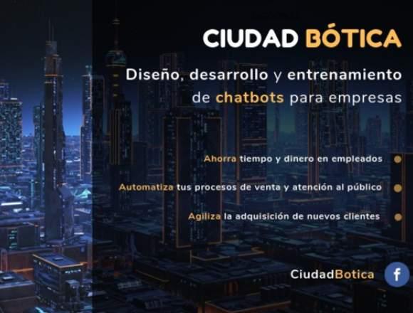 Desarrollo y entrenamiento de Chatbots
