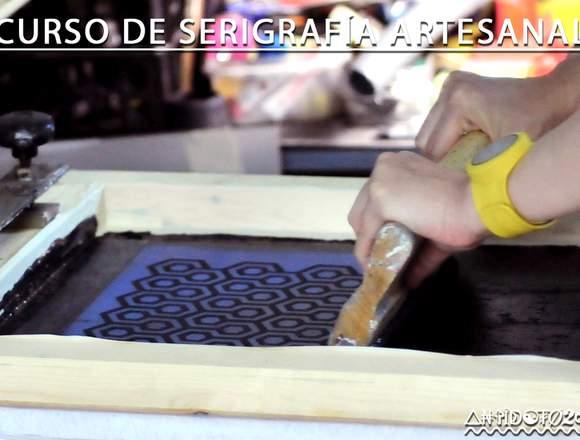 CURSO DE SERIGRAFÍA ARTESANAL D.I.Y.