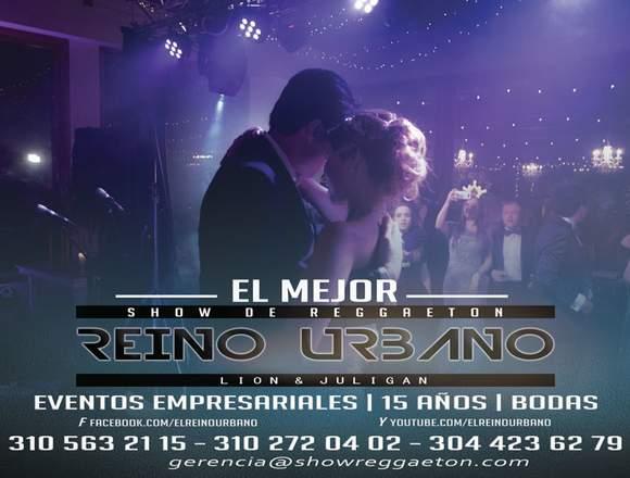 show de reggaeton para eventos y Fiestas