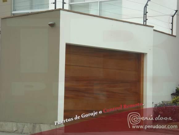 Puertas automaticas de garaje Peru Door