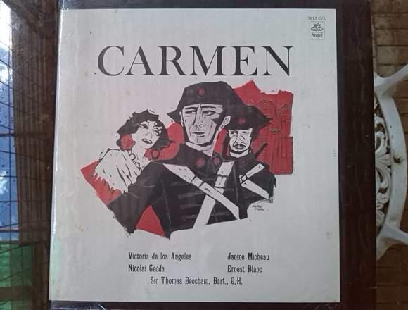 opera carmen BIZET disco vinylo acetato