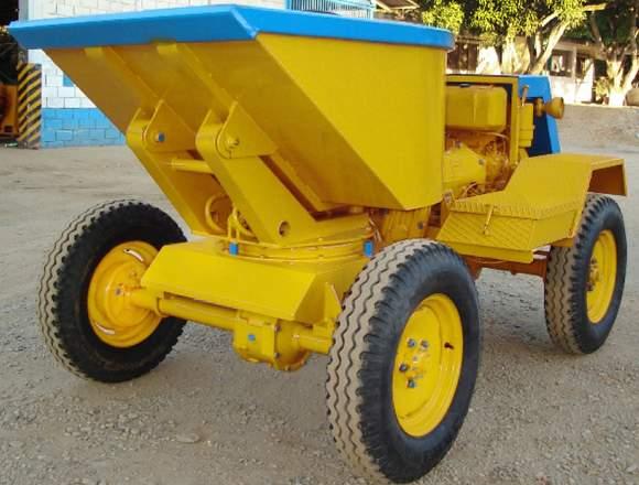 mineria maquina para transportar material obra