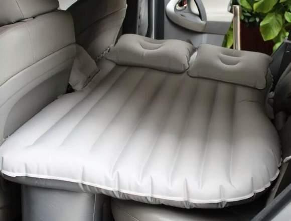 Colchon Inflable Para Auto Incluye Inflador