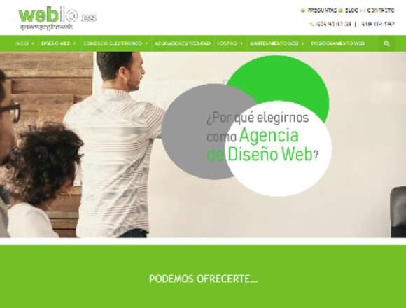 Pagina web desde 360 €