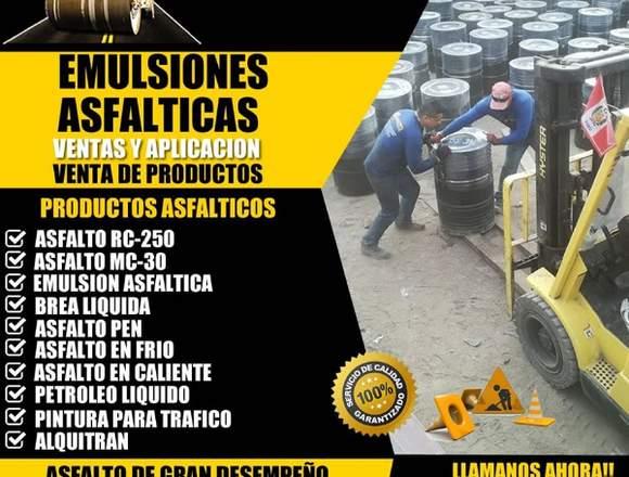 gran venta de emulsiones asfalticas