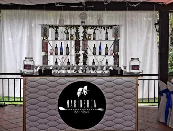 eventos fiestas cocteles barman bar móvil shows
