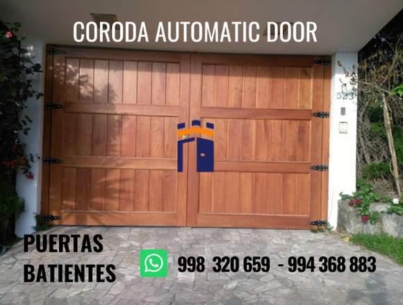 PUERTAS SECCIONALES CORODA AUTOMATIC DOOR