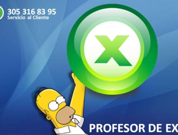 Clases de Excel. Muy buen profesor. Pedagogo.
