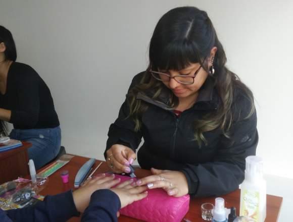 Curso manicure  incluido tradicional y permanente.