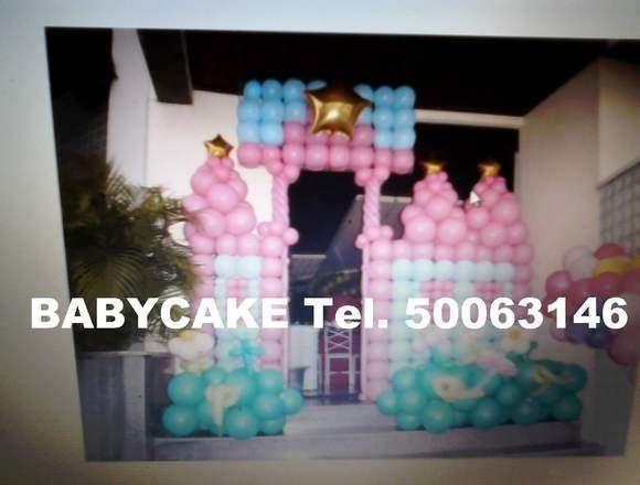 Espectaculares decoraciones con globos