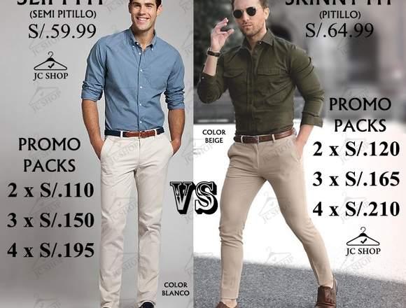 Pantalones Drill Slim Y Skinny Fit Pitillo Hombre Anuto Clasificados