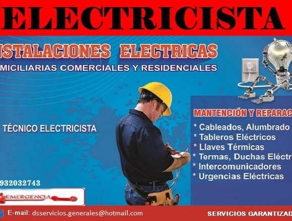 Técnico Electricista en Lima
