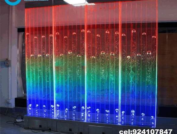 fuentes de agua,muro lloron,panel de bubujas