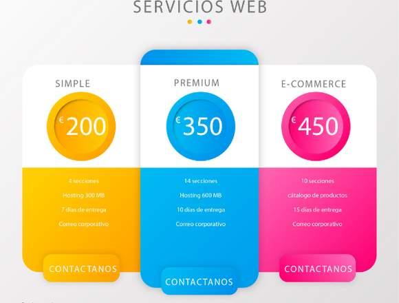 Diseño de paginas web españa