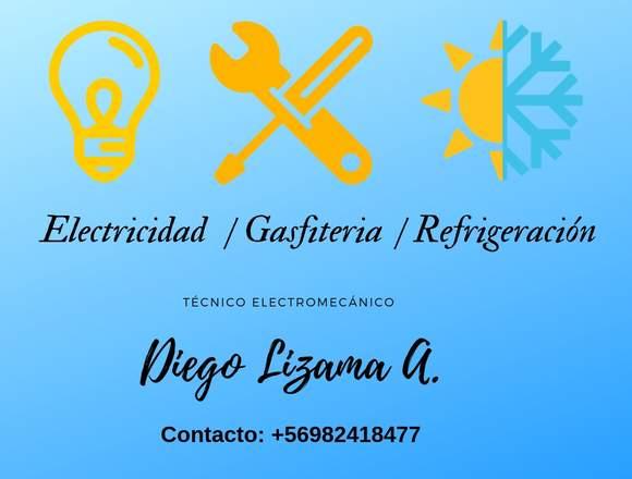 Electricidad /Refrigeración /Gasfiteria