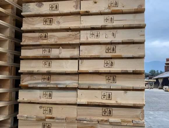 PALETS EUROPEOS de madera, están nuevos