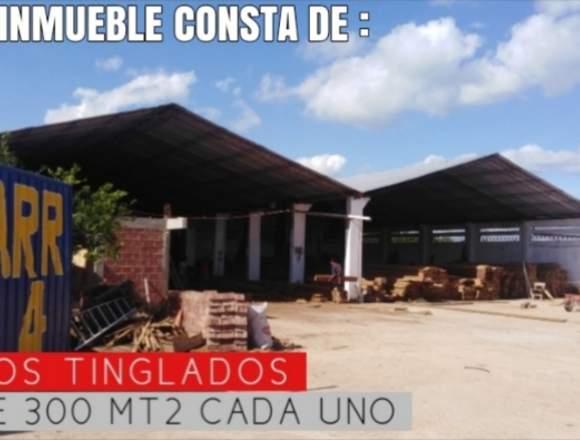 INMUEBLE IDEAL PARA NEGOCIO GRANDE !
