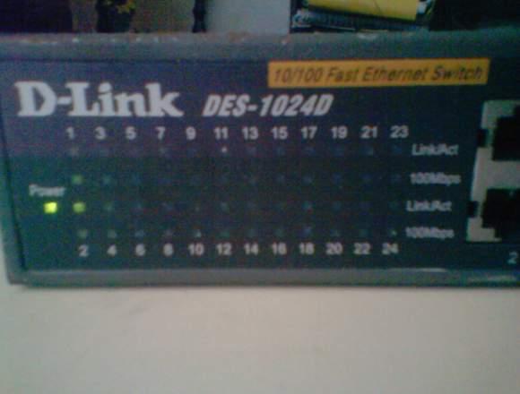 Router D-LINK en muy buenas condiciones
