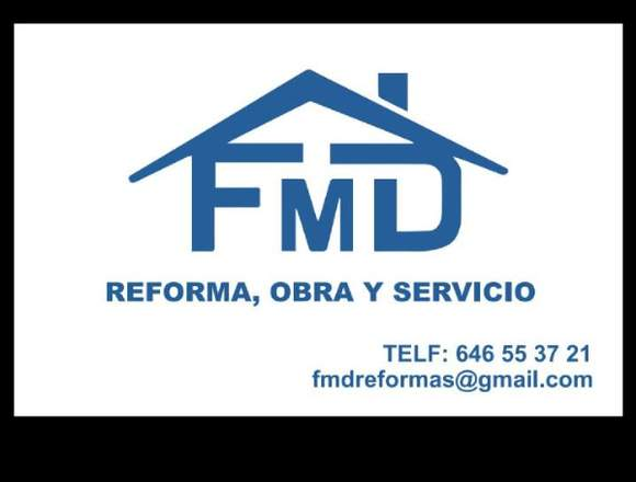 REALIZAMOS TODO TIPO DE REFORMAS