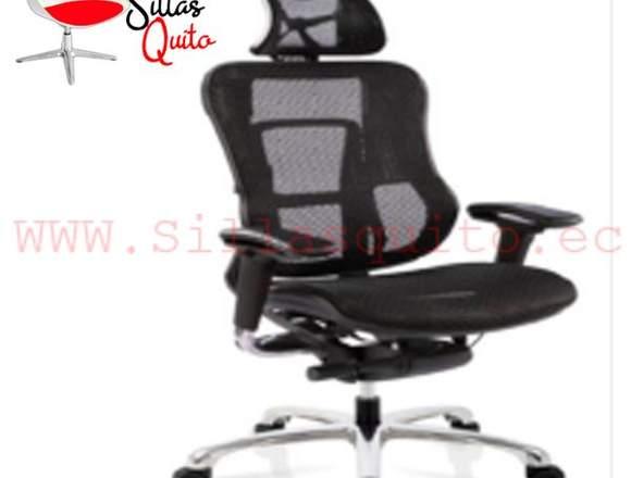 silla ergonomica malla gerencial