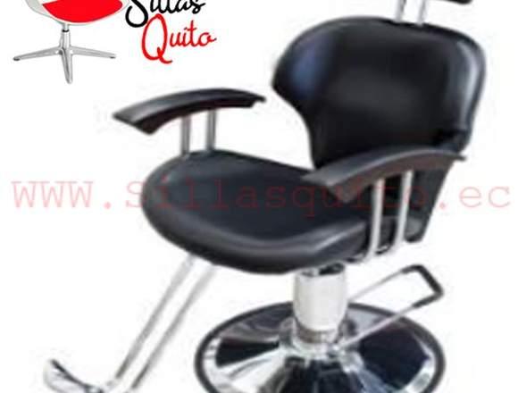 sillon de peluqueria giratorio