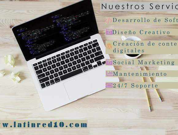 LatinRed10 - Diseño de Páginas Webs