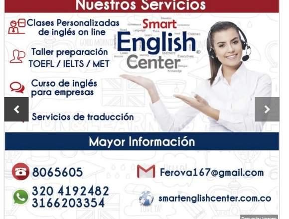 Clases Personalizadas de Ingles - Taller TOEFL