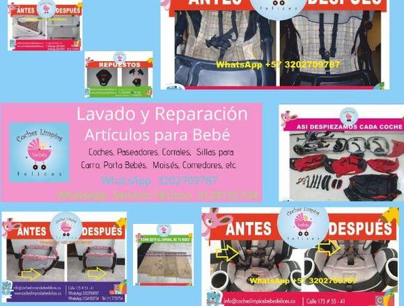 Lavado y Reparación de Artículos Para Bebé