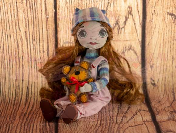 Muñecas de Tela Hechas a Mano UnPoquitoDeMi Cusco
