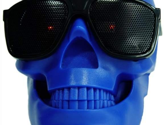 Cabeza De Cráneo Altavoz Inalámbrico Bluetooth