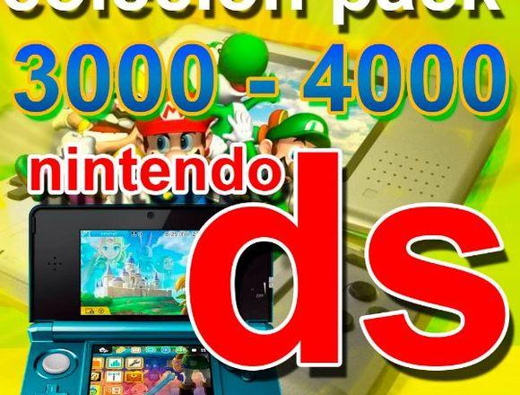 Juegos Nintendo Ds Coleccion Pack