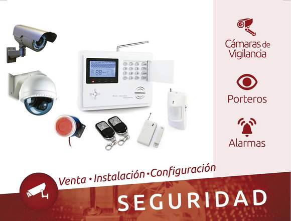 Cámaras de Vigilancia, Porteros y Alarmas