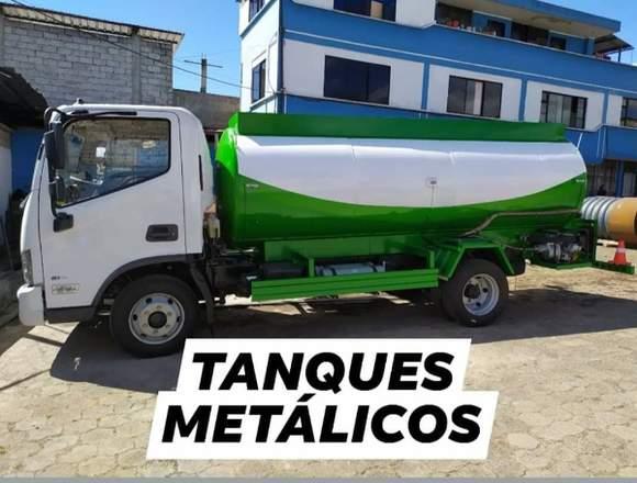 TANQUES METALICOS PARA TRANSPORTE