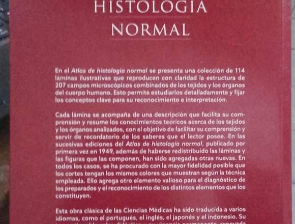 Libro Atlas de Histología Normal