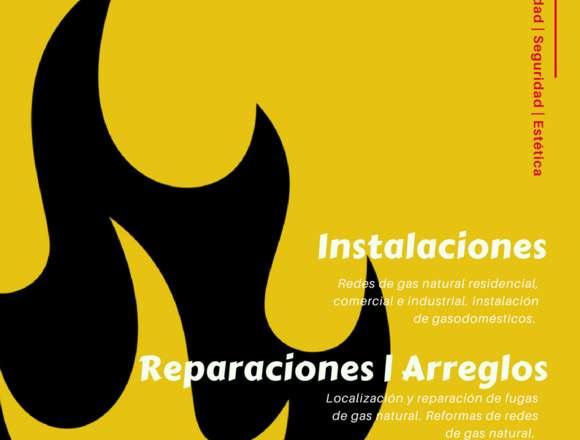 Instalación redes de gas y calentadores Medellin