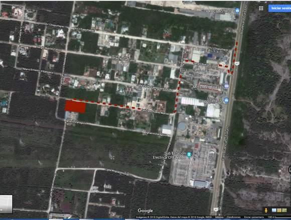 Terreno en VENTA 2.000m2 en Col. Doctores - Cancún
