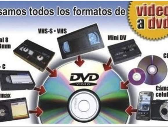 VHS a USB Panamá....