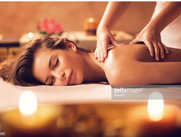 Salud y belleza masajista profesional