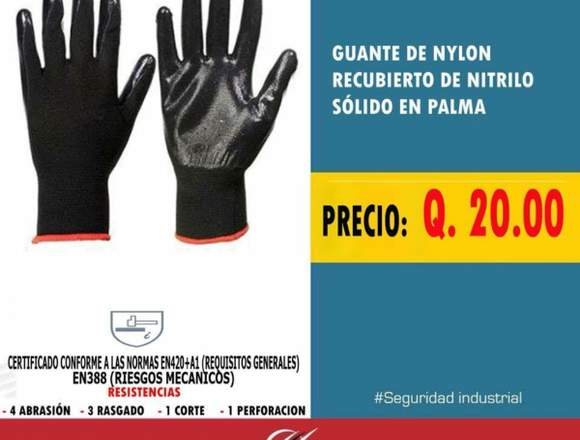 Guantes Jersey . . . .