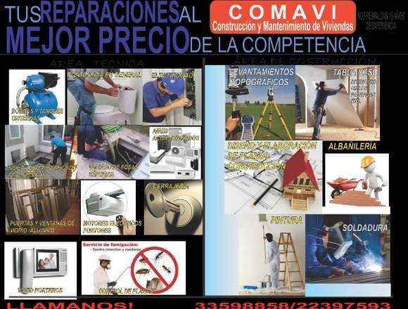 Construcción y Mantenimiento COMAVI