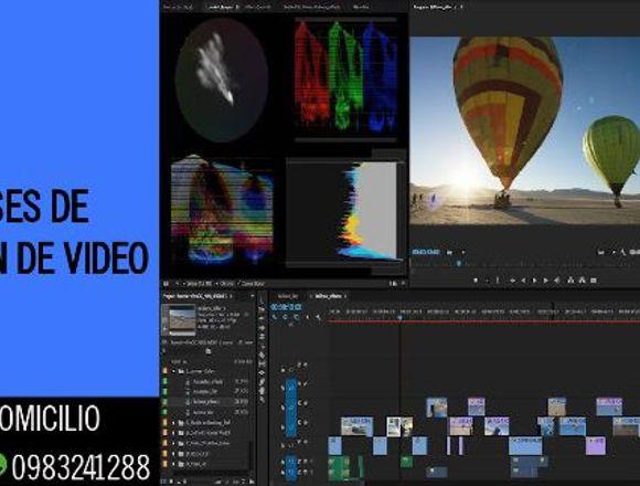 Edición de video/ Clases particulares