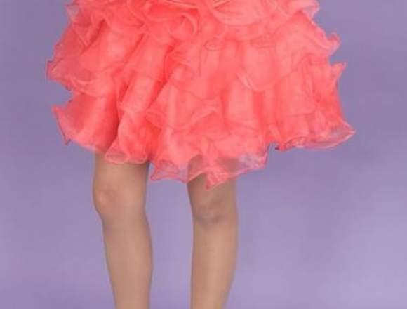 Vestido De Xv Años Color Coral Anuto Clasificados
