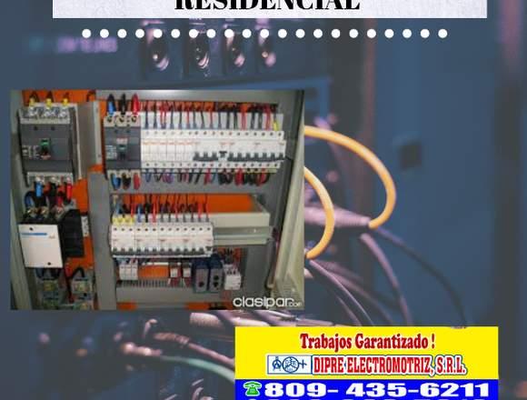 Electricidad industrial-residencial reparacion