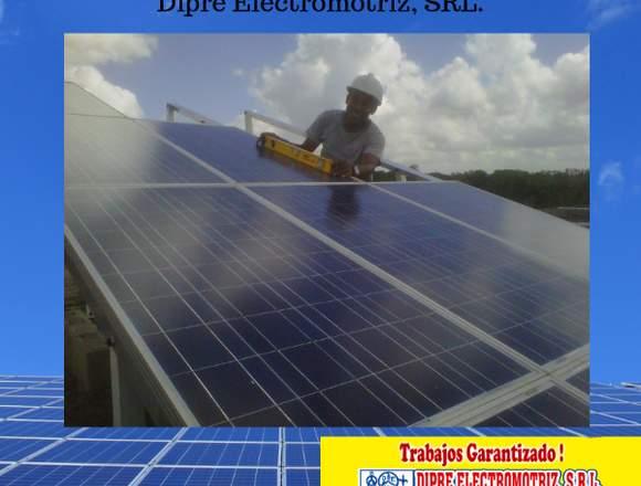 Paneles solares, instalación, venta y servicios.