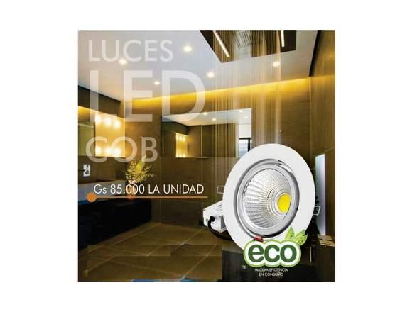 Luces LED COB bajo consumo