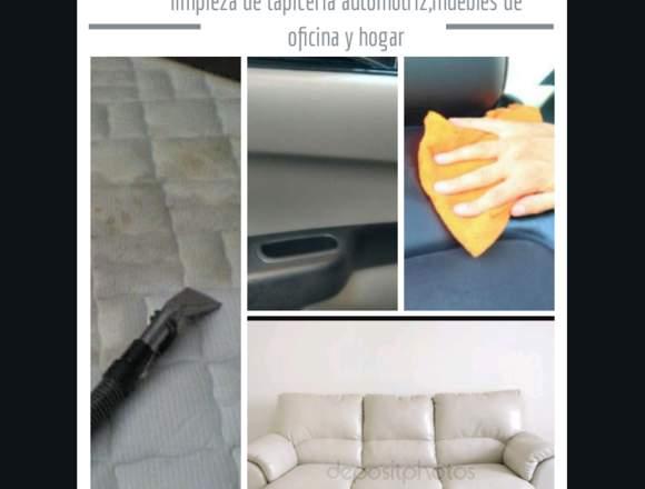 LIMPIO Y LUMINOSO limpieza de tapiceria