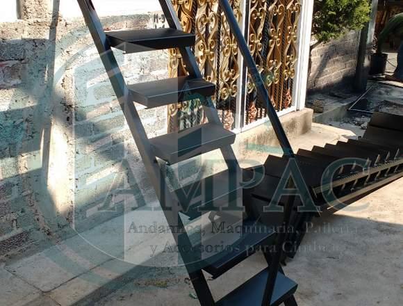 Escalera para Andamio con barandal