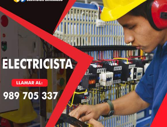 Electricista Gasfiteria 24 horas