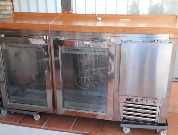 Barrilero refrigerado